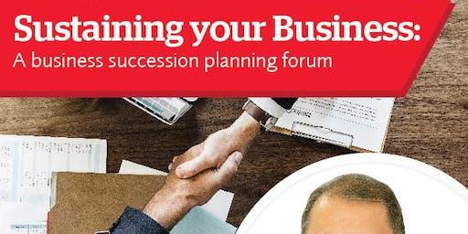 Business Succession Planning Forum