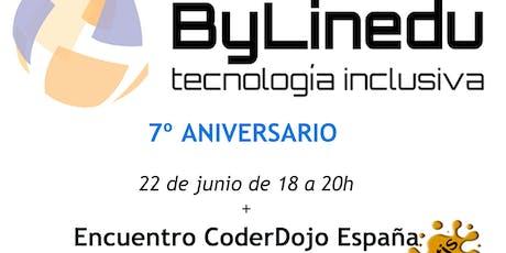 7º Aniversario ByLinedu 2019 entradas