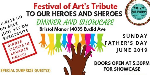Festival of Art's Tribute to Our Heroes and Sheroes