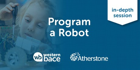 Program a Robot - Power things with code tickets