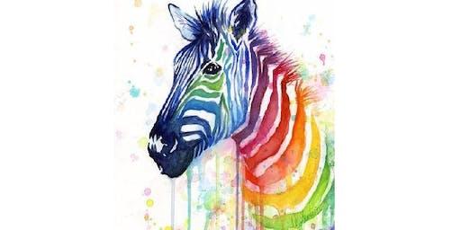 Rainbow Zebra - Sydney