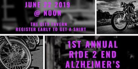1st Annual Ride & Get Down 2 End Alzheimer's tickets