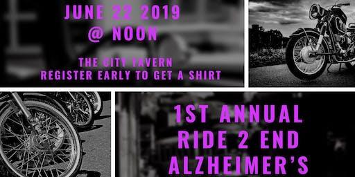 1st Annual Ride & Get Down 2 End Alzheimer's