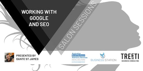 [Darwin] Salon Sessions: Working with Google & SEO tickets