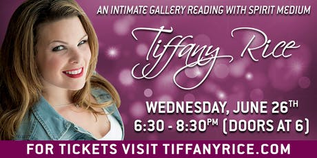 Intimate Gallery Reading with Tiffany Rice tickets