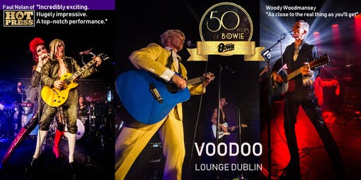 Absolute Bowie. Europe's Finest David Bowie Live Rock Music Event