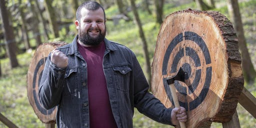 Axe throwing event (12.30 - 2pm, 16 June 2019, near Cardiff)