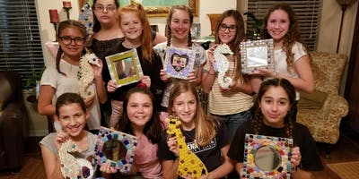 Kid's Mosaic Craft Class at Lucky's in Neptune Beach