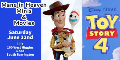 Mane in Heaven Minis & Movies Toy Story 4 Fundraiser