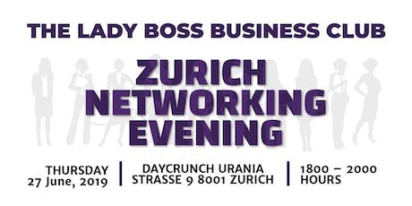 The Lady Boss Business Club Networking Evening - By SEM tickets