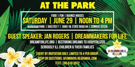 Summer BBQ At The Park tickets