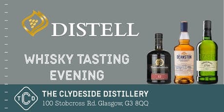 Distell Whisky Tasting at The Clydeside Distillery tickets