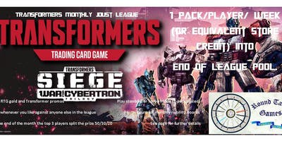 Transformers TCG June Joust League at Round Table Games