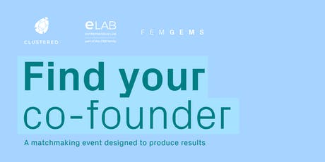 FIND YOUR CO-FOUNDER! tickets