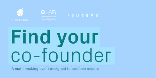 FIND YOUR CO-FOUNDER!