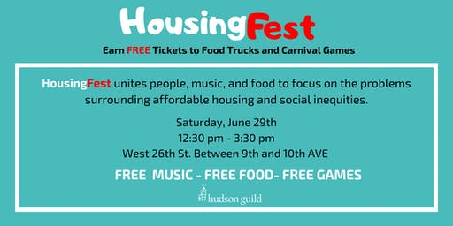 HousingFest (A FREE Food Truck and Carnival Festival)