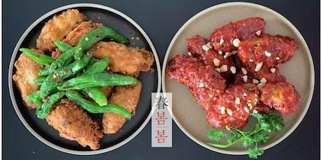 Korean Fried Chicken & Natural Wine tickets