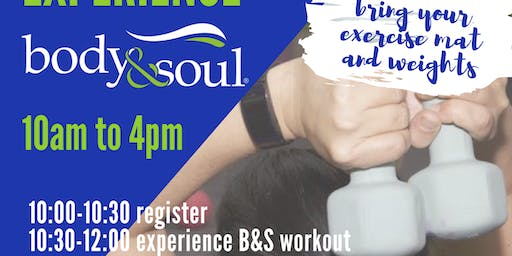 Fun and Free Body and Soul Event