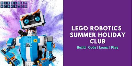 Lego Robotics Summer Holiday Club - Davidson Mains, Edinburgh tickets