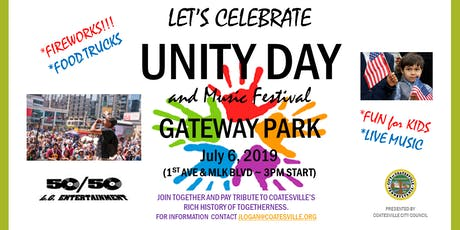 UNITY DAY & MUSIC FESTIVAL - Coatesville, USA tickets