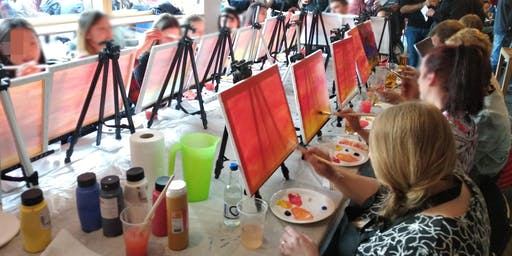 Paint Nite - A tutored painting class for beginners