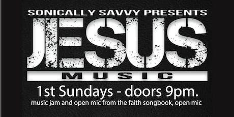 1st Sundays - Jesus Music  tickets