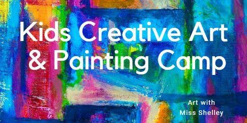 Unicorns, Mermaids, & Dragons Painting and Clay Camp with Miss Shelley (Wed 1-3)