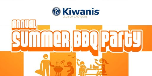 Kiwanis Club of Croydon Annual Summer BBQ Party