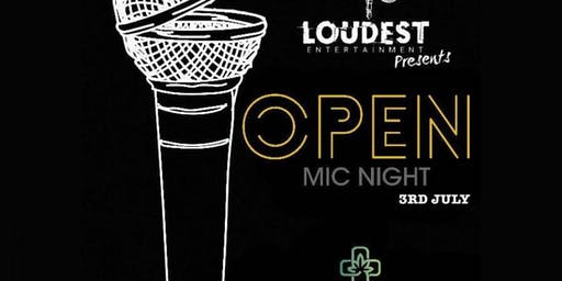 Loud in da reef 2019 (Open Mic night)