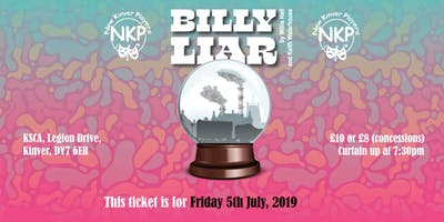 Billy Liar - Friday performance
