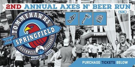 2nd Annual Axes N' Beer Run (5K) tickets