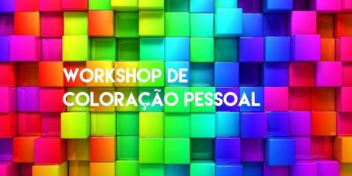 Workshop de Coloração Pessoal para Consultores de Imagem