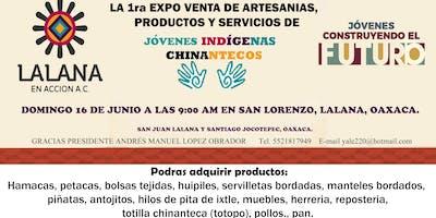 Expo venta de JOVENES CHINANTECOS