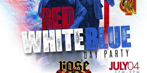 "TUSKEGEE UNIVERSITY FOUNDER'S DAY ""RED, WHITE & BLUE DAY PARTY"""