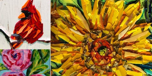 Mosaic Glass Painting Class - Saturday 6/22 - West Chester PA