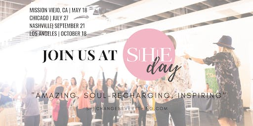 SHE Day: By SHE Changes Everything (Nashville) | A Sustainable, Healthy, Ethical Wellness Event!