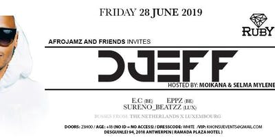 AfroJamz and Friend invites DJEFF