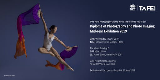 TAFE NSW Ultimo Photography Diploma Mid-Year Exhibition