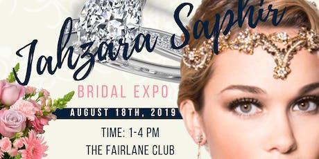 Jahzara Saphir Bridal Expo tickets