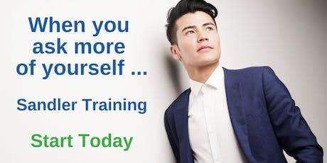 Sandler Foundations - Sales Training | South Florida tickets
