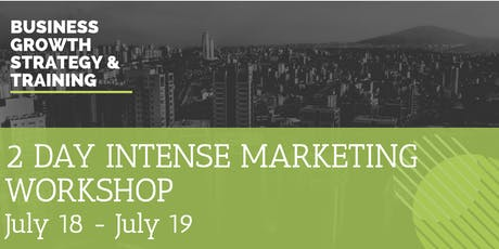 2 DAY INTENSE MARKETING WORKSHOP tickets