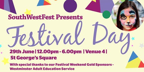 SouthWestFest Festival Day for South Westminster tickets