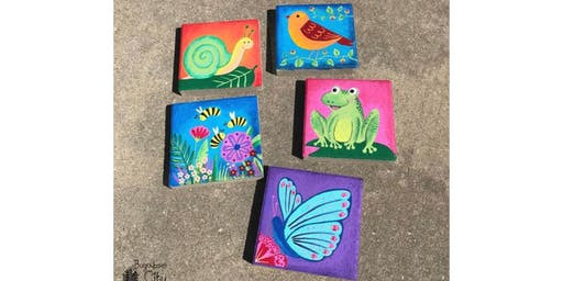 Kids Stepping Stone Art Class - Wednesday 7/10 - West Chester PA