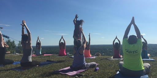 Yoga on the Mount benefiting the London Strong Foundation