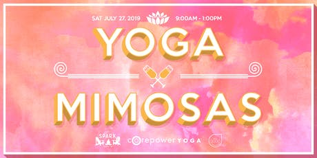 Yoga x Mimosas tickets