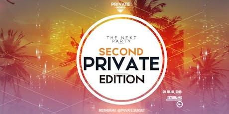 Private Sunset ingressos