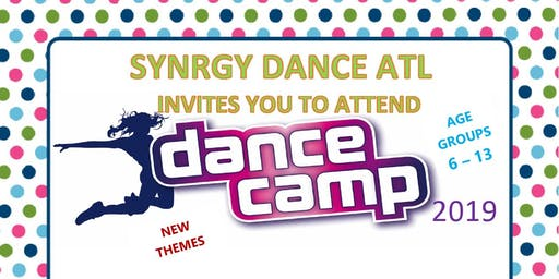 Synrgy Dance Atlanta - 2019 Summer Dance Camp