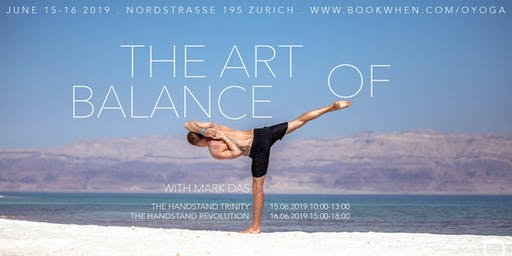 Mark Das in Zürich: The Art of Balance