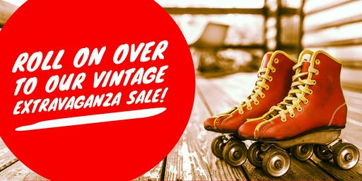 Plank & Pearl VINTAGE EXTRAVAGANZA SALE--VIP Shopping Event