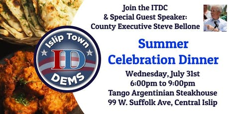 Summer Celebration w/County Executive Steve Bellone tickets